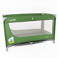 Манеж кроватка прямоугольный UNO зеленый 55200