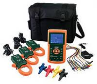 Анализатор мощности/регистратор данных Extech 382100 1200A 3-фазный