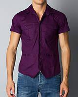 Мужская рубашка с коротким рукавом Warren Webber (Италия)