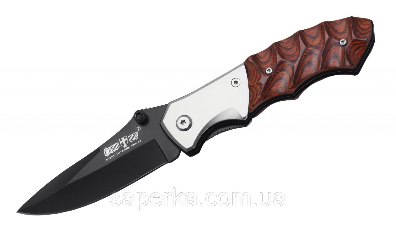 Нож многофункциональный с ассистом Grand Way 967-45