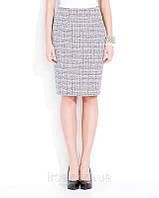 Женская демисезонная юбка светло-серого цвета. Модель Mila Zaps.
