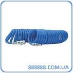Шланг спиральный полиуретановый 8 x 12 мм 15м с б/с PT-1717 Intertool