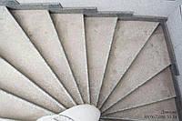 Ступени и лестницы из натурального камня Серый, 30мм