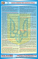 Стенд «Закон Украины об охране труда»