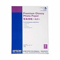 Бумага EPSON A2 Premium Glossy Photo Paper (C13S042091)
