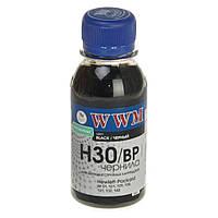 Чернила WWM HP № 21/130/140 (8767/8765)BL/pigm 100г (H30/BP-2)