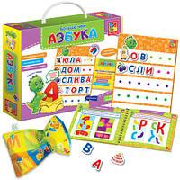 Обучающая игра для малышей «Больше чем Азбука» VT2801-05 VladiToys (рус)