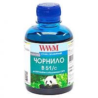 Чернила Brother DCP-T300/T500W/T700W 200г Cyan Water-soluble WWM (B51/C)