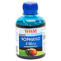 Чернила Epson Stylus Photo R200/R340/RX620 1000г Light Cyan Water-so WWM (E50/LC-4)