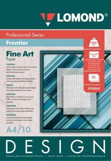 Односторонняя глянцевая фотобумага для струйной печати, 200 г/м2, А4, 10 листов