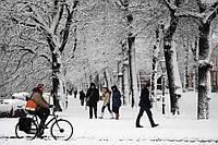 Зимнее катание и уход за велосипедом зимой