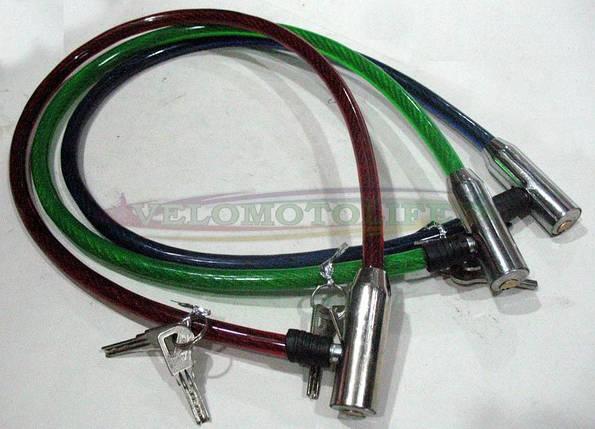 Велозамок дешевый металл 12mm-1000mm, фото 2