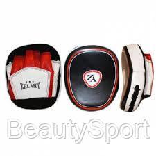 Лапа Изогнутая (2шт) Кожа (черно-белая-красная) - BeautySport в Харькове