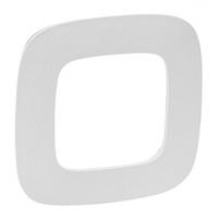 Рамка 1 пост тиснение белое 754371 Legrand Valena Allure