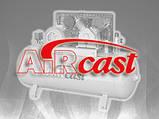 Компрессор поршневой с горизонтальным ресивером Aircast СБ4/С-100.V47А (Беларусь), фото 2