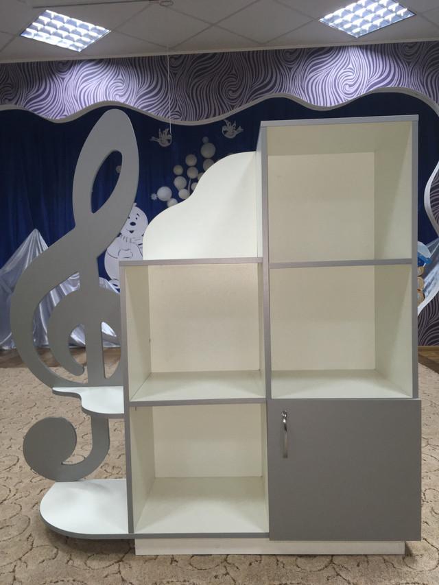 Шкаф стеллаж для музыкальных кабинетов
