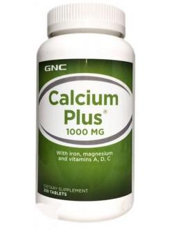 GNC CALCIUM PLUS 1000, 250 tab