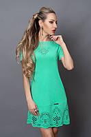 Красивое летнее платье из новой коллекции  с перфорацией