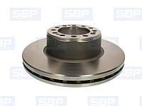 Диск тормозной SBP 02-SA001 (SAF 4079000502)