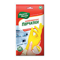 Перчатки хозяйственные Мелочи Жизни 8 размер M 3129 CD