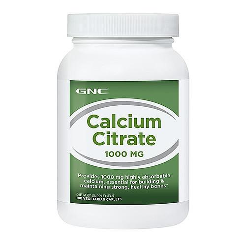 GNC CALCIUM CITRATE 1000, 180 caps