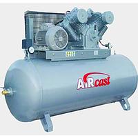 Компрессор поршневой с горизонтальным ресивером Aircast СБ4/Ф-500.W95 (Беларусь)