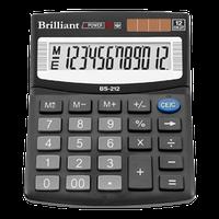 Калькулятор Brilliant 12 разрядный, BS-212