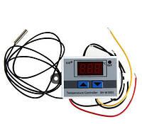 Электронный термостат программируемый на микроконтроллере регулятор температуры с датчиком -50,0 - 110,0 220В
