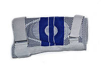 Суппорт колена, усиленный ремнями с дополнительной гелевой фиксацией (р-р M)