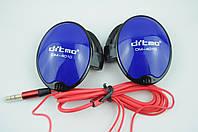 Наушники с ушным крючком DITMO DM-4010 синий