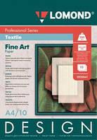 Односторонняя фотобумага ярко-белого цвета Ткань, 200 г/м2, А4, 10 листов