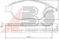 Колодки тормозные дисковые комплект ABS 37273