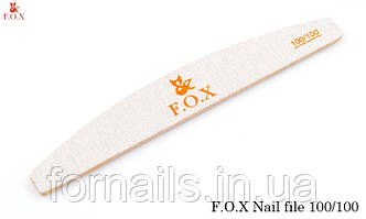 Пилка Fox 100/100,полукруг