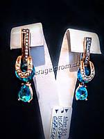 Серебряные серьги в Османском стиле из коллекции Хюррем Султан