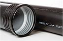Труба низкошумной канализации SiTech plus (Wavin) 110x3.4x2000 с раструбом (черная)