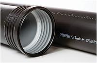 Труба низкошумной канализации SiTech plus (Wavin) 110x3.4x2000 с раструбом (черная), фото 1