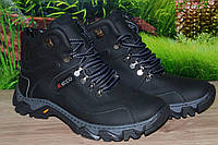 Ботинки кожа М25ф прошитые качество ECCO 40 41 42 43 44 45 46