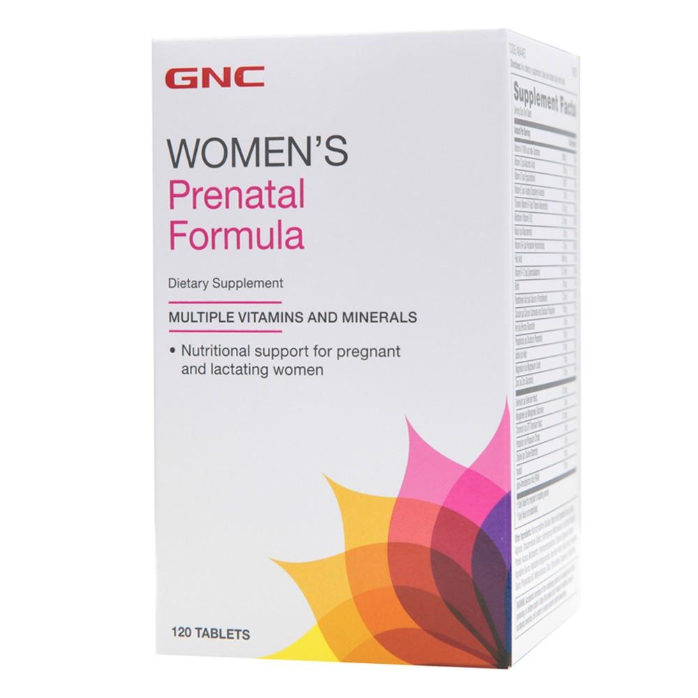 GNC PRENATAL FORMULA 120 tab