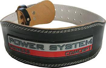 Пояс для тяжелой атлетики Power System Power Black (PS-3100)