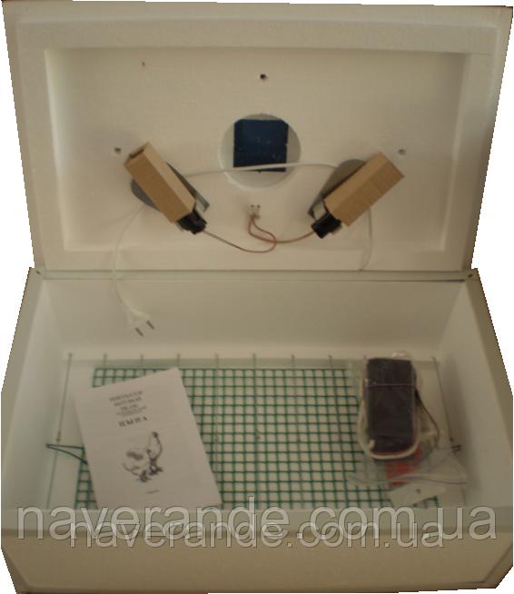 Инкубатор бытовой ламповый Цыпа ИБ-100 (с механическим переворотом)