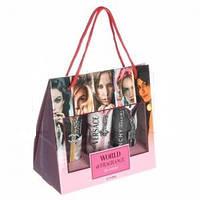 Набор CHANEL VERSACE GIVENCHY 3в1 в картонной сумке для женщин