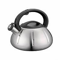 Чайник со свистком Peterhof PH 15617 3л с матовым покрытием