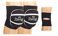 Наколенник волейбольный (2шт) MATSA MA-0028 (р-р S-L, черный)