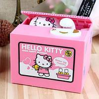 """Копилка """"Котик-воришка Hello Kitty"""" (Хелло Китти)"""
