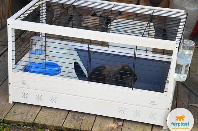 Клетки для кроликов Ferplast • Ферпласт (Италия)