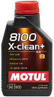 Масло моторное Motul 8100 X-clean+ 5W-30 1л