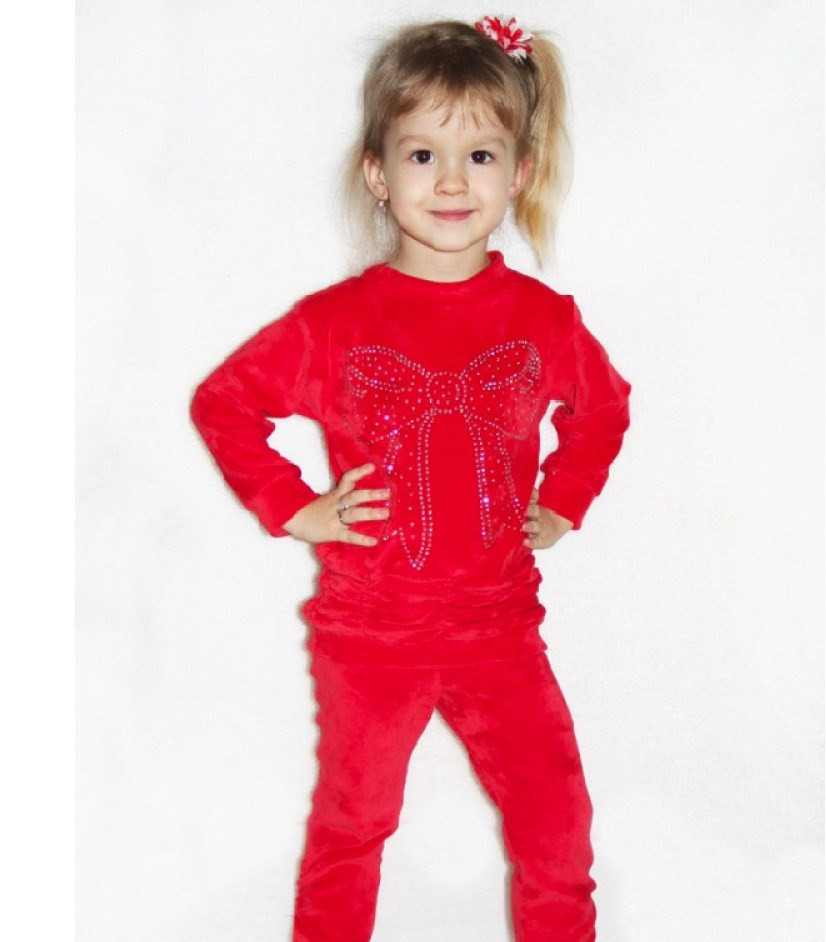 Детская туника  и лосины (велюр) - Web-покупки УСПЕХ - Модная одежда оптом и в розницу  в Киеве