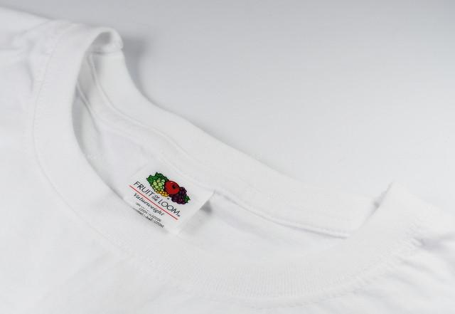 Белая детская классическая футболка для мальчиков