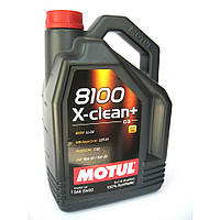 Масло моторное Motul 8100 X-clean+ 5W-30 5л