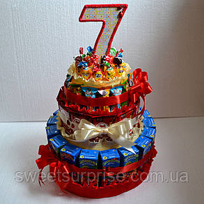 """Торт в школу из конфет и сока """"КитКат"""" , фото 2"""
